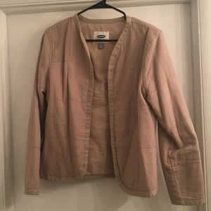 Sand-colored blazer